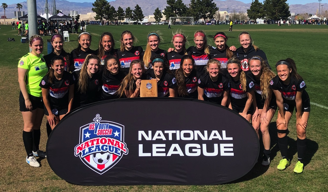 00 Girls Taylor - National League Champions