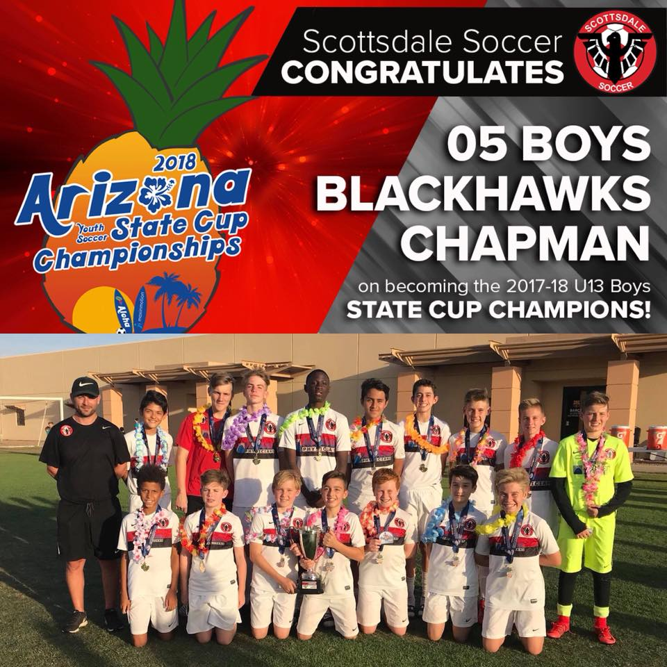 05 Boys Chapman - 2018 State Cup CHAMPIONS!