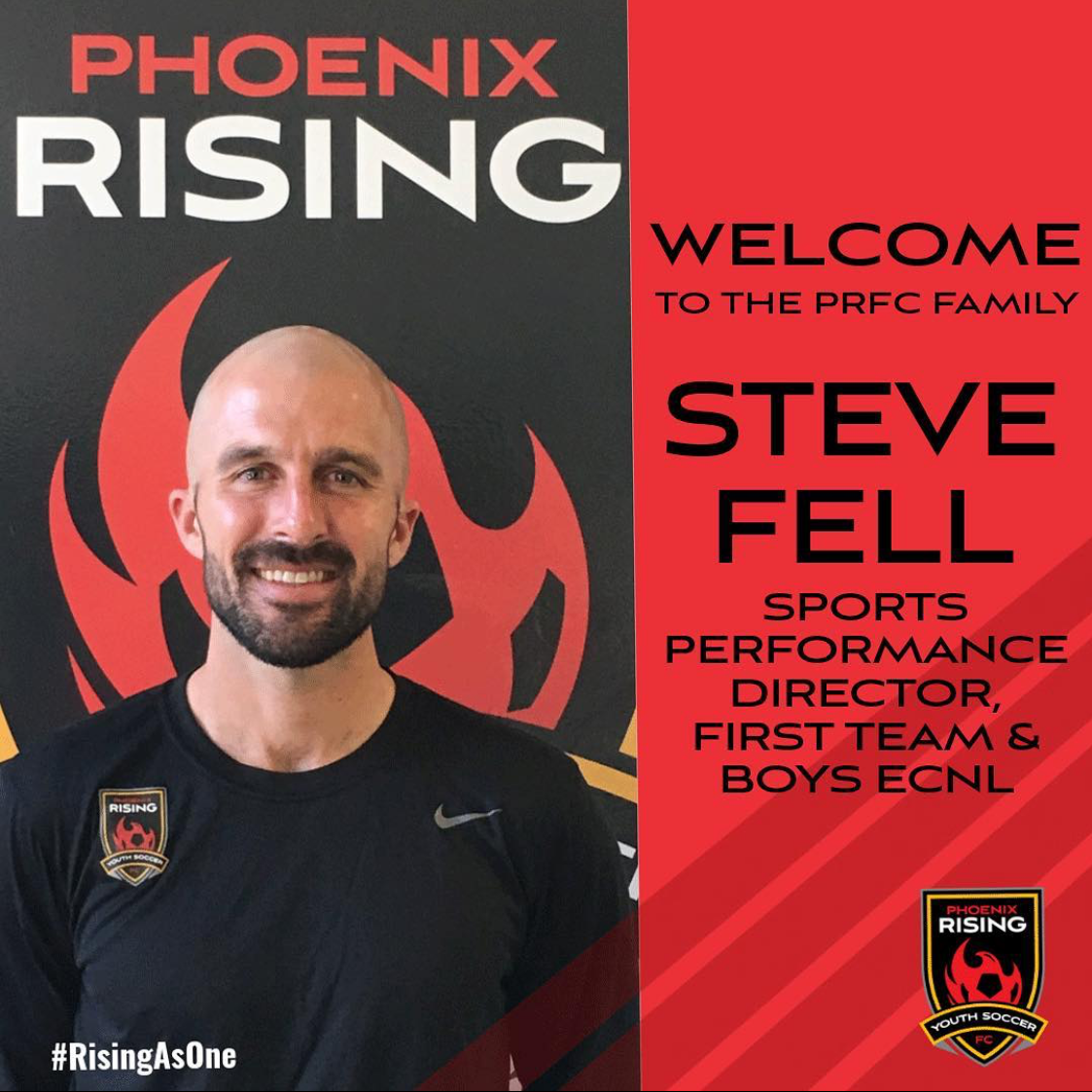PRFCYS Welcomes Steve Fell